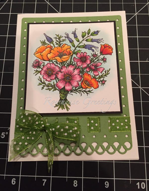 Rowhouse Greetings | Notecard | Countryside Bouquet by Power Poppy