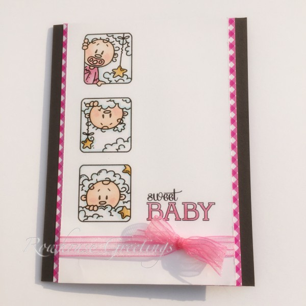Rowhouse Greetings | New Baby | Benny Blocks by Bugaboo Stamps