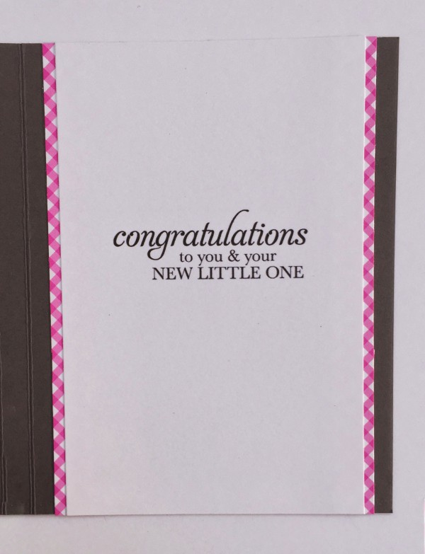 Rowhouse Greetings | New Baby | Sweetest Gift by Stampin' Up