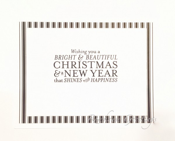Rowhouse Greetings | Christmas | Bright & Beautiful by Stampin' Up