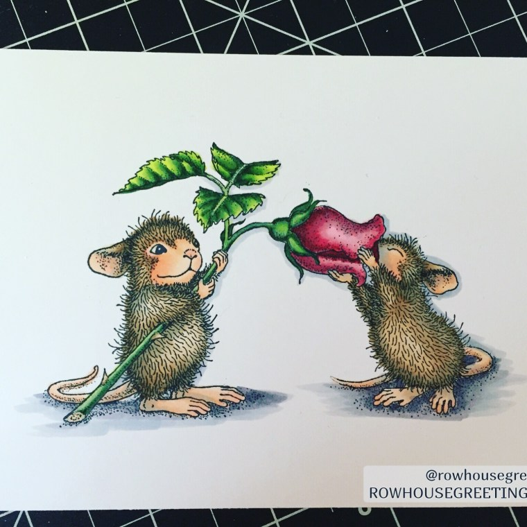 Rowhouse Greetings House Mouse