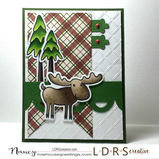 Rowhouse Greetings   North Woods by LDRS Creative