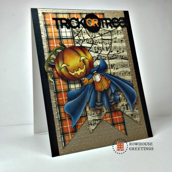 Rowhouse Greetings | Halloween | Mini Headless Horseman by Make it Crafty