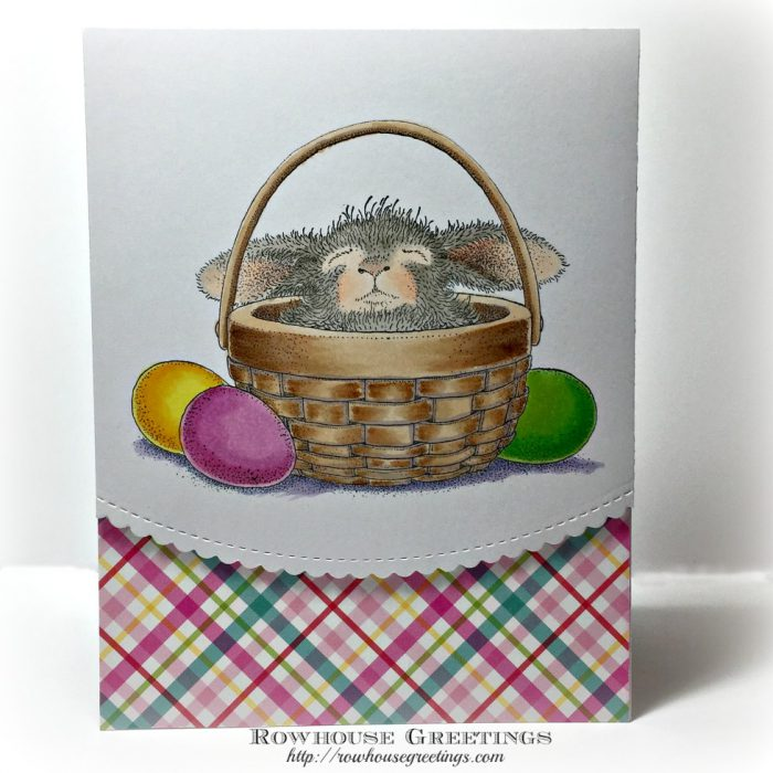 Rowhouse Greetings | Bunny Basket by House Mouse Designs