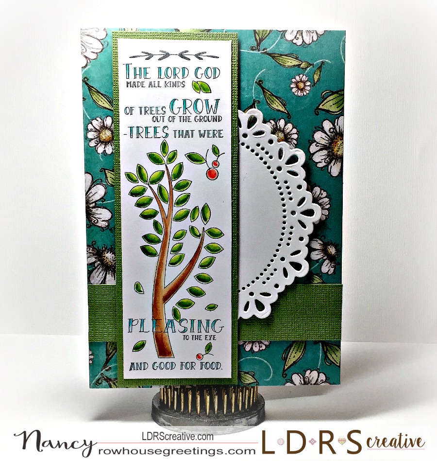 Rowhouse Greetings | Inspired Edge - Grow by TLC Inspired Crafting