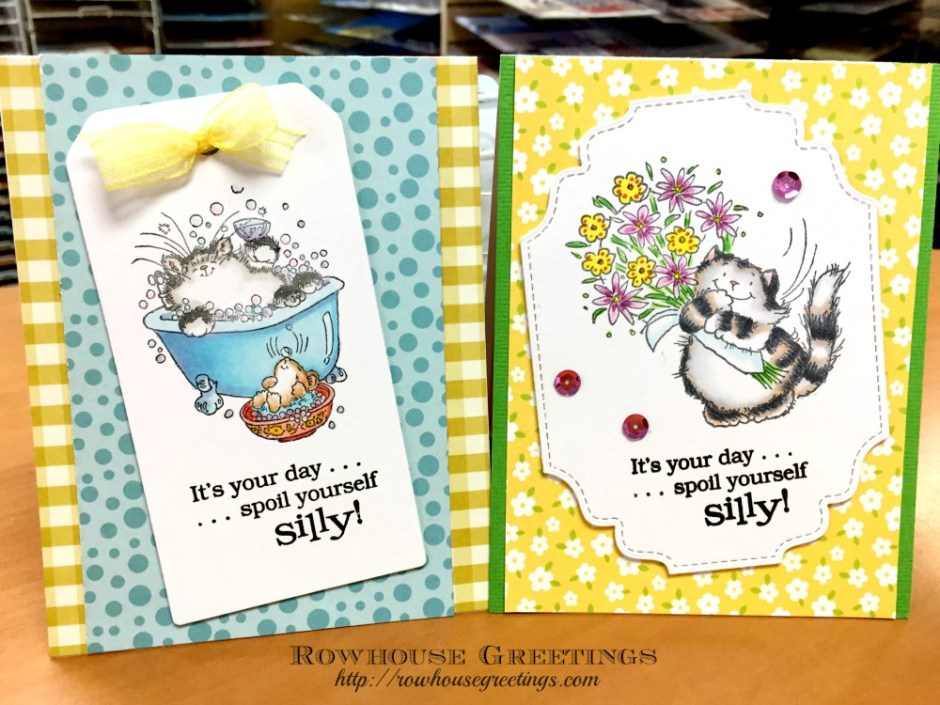 Rowhouse Greetings | Penny Black Critters