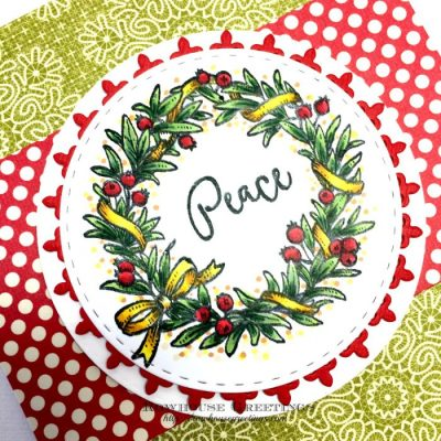 Rowhouse Greetings   Wreaths Plain and Fancy by Power Poppy