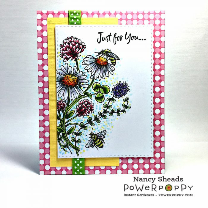 Rowhouse Greetings | Asters Abuzz by Power Poppy