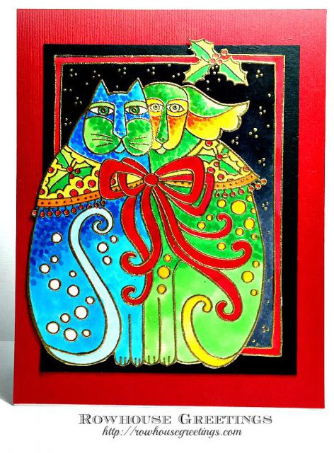 Rowhouse Greetings | Kindred Spirit (Laurel Burch) by Stampendous