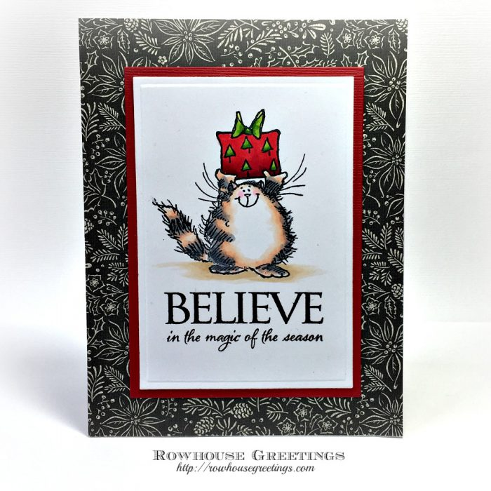 Rowhouse Greetings | Joy to the World by Penny Black