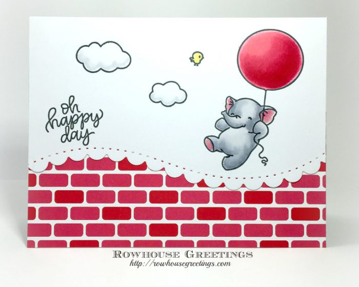 Rowhouse Greetings | Fly With Me By Mama Elephant