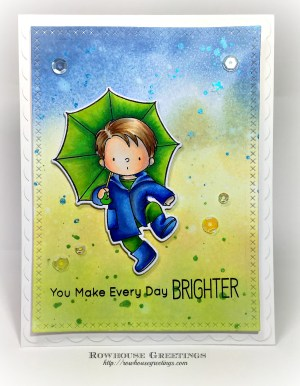 Rowhouse Greetings | BB Puddle Jumper by My Favorite Things