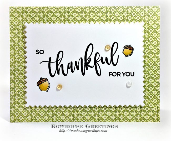Rowhouse Greetings | Grateful by Avery Elle