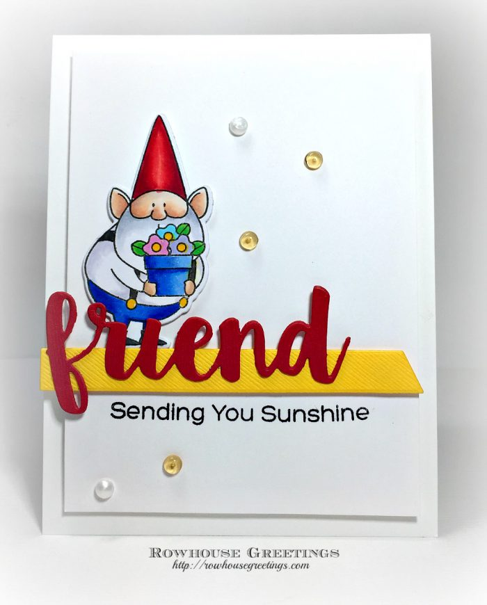Rowhouse Greetings | Gnome Me by My Favorite Things (MFT Stamps)