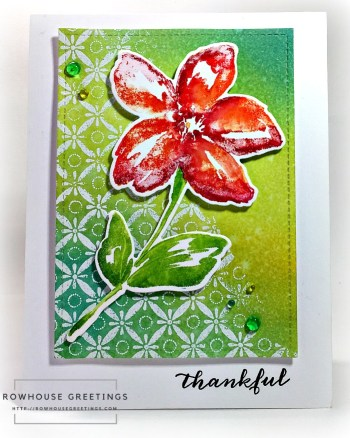 Rowhouse Greetings   Belle by Penny Black