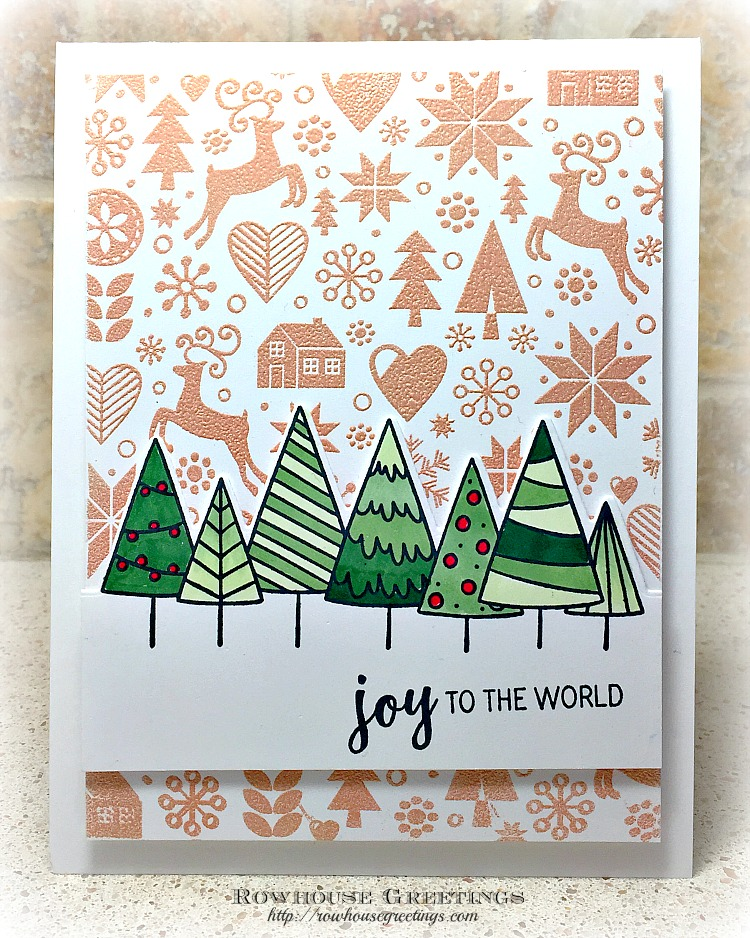 Rowhouse Greetings | Cutting Edge - Trees by Taylored Expressions