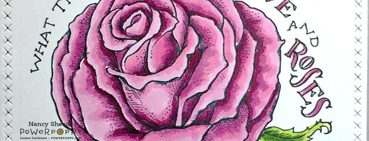 Rowhouse Greetings | Vital Rose by Power Poppy
