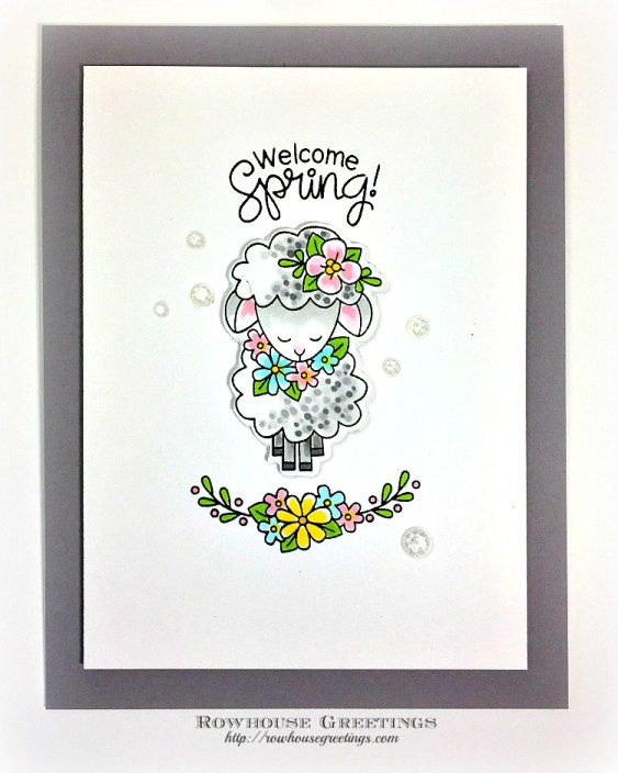 Rowhouse Greetings | Woodland Spring by Newton's Nook Designs