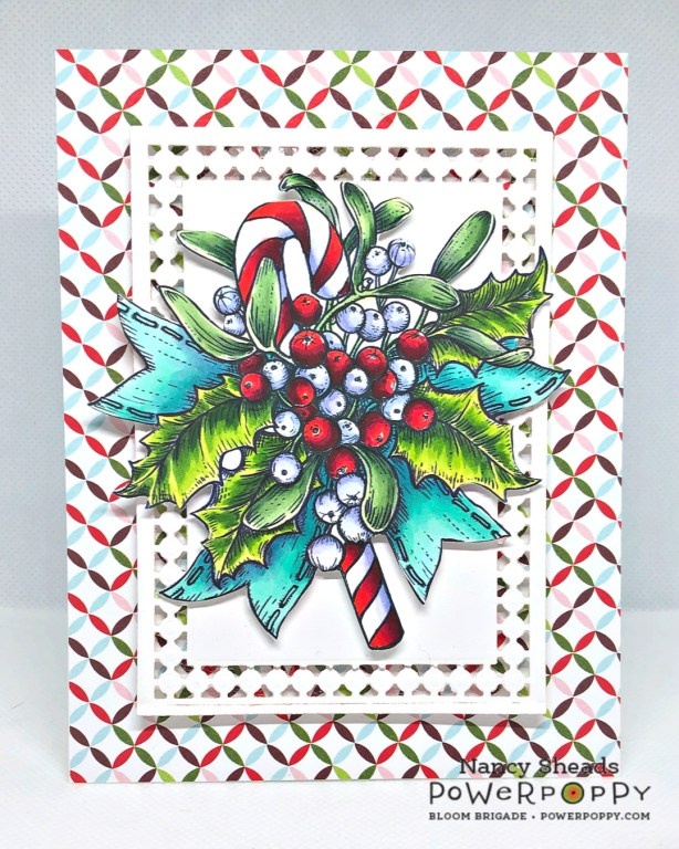 Rowhouse Greetings | Merriest Berries by Power Poppy