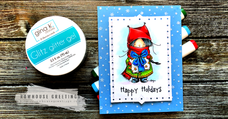 Rowhouse Greetings | Winter Presents Digital Stamp by Mo's Digital Pencil