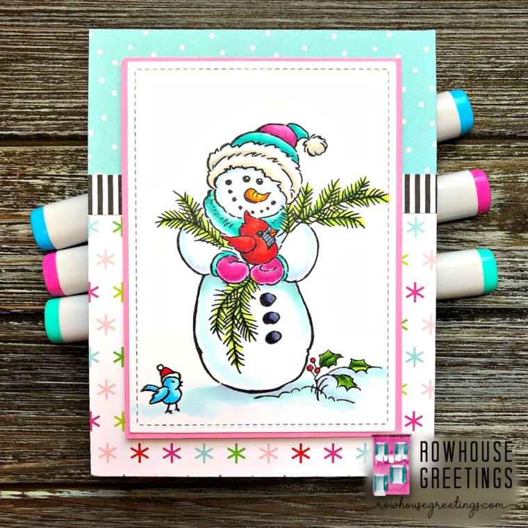 Rowhouse Greetings | Wintery Day by Stampendous
