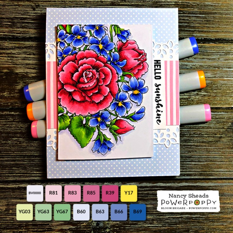 Rowhouse Greetings | Flower Bomb by Power Poppy