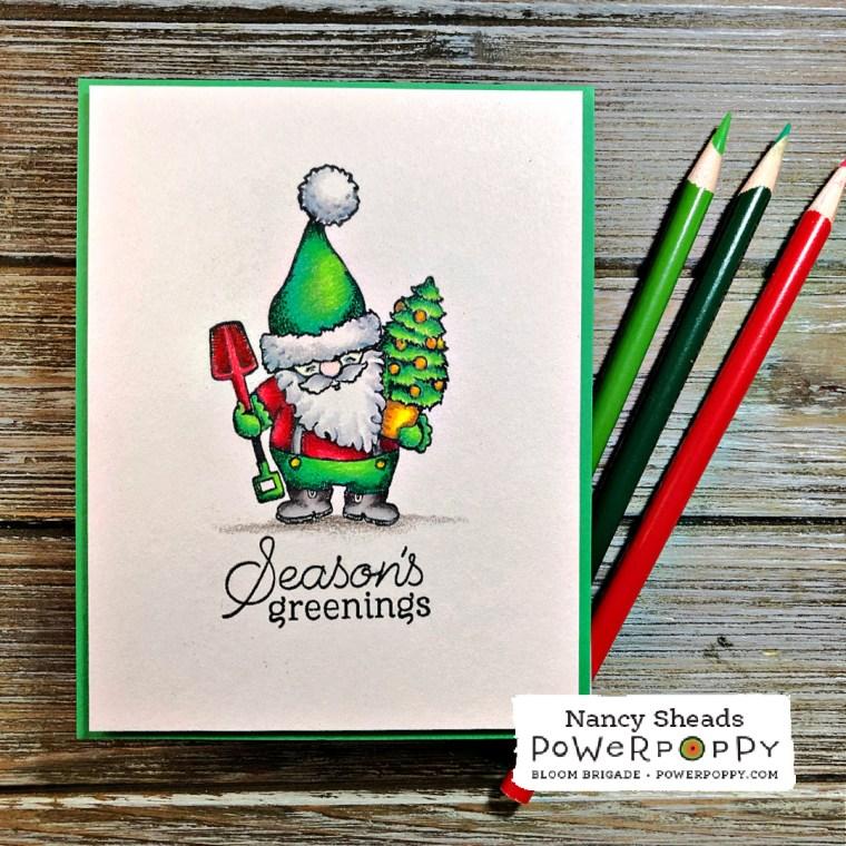 Rowhouse Greetings | Seasons Greenings by Power Poppy