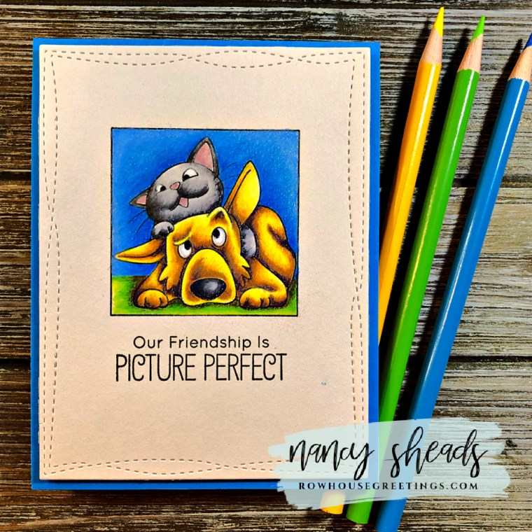 Rowhouse Greetings | Picture Perfect by My Favorite Things (MFT Stamps)