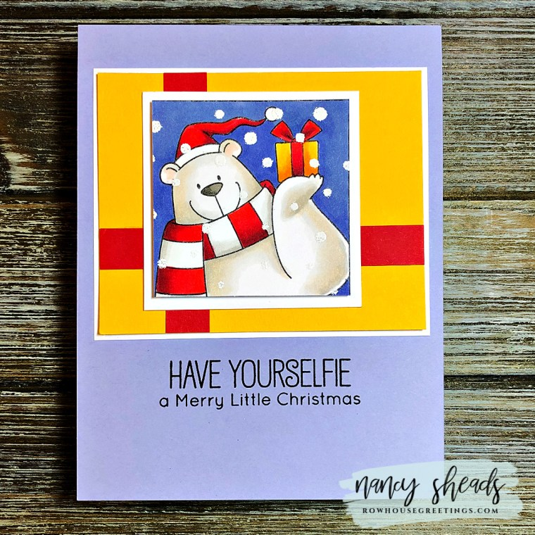Rowhouse Greetings | BB Christmas Selfies by My Favorite Things (MFT Stamps)