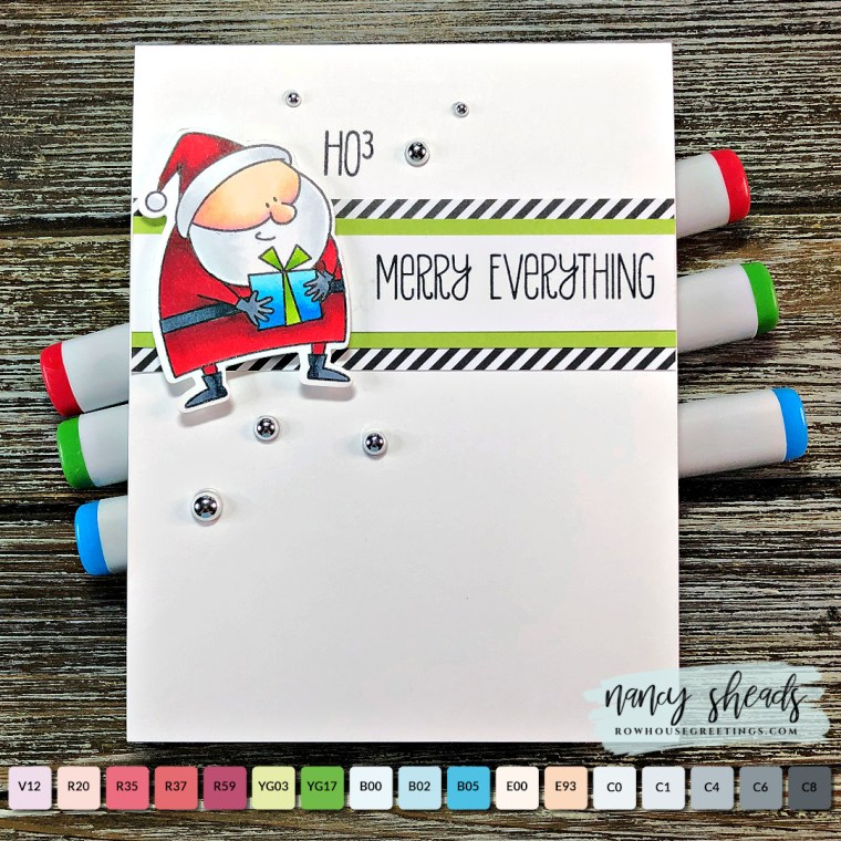 Rowhouse Greetings | Jingle All the Way by My Favorite Things (MFT Stamps)