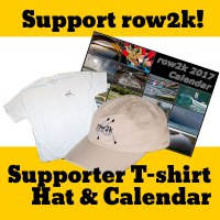 row2k tee, hat and calendar