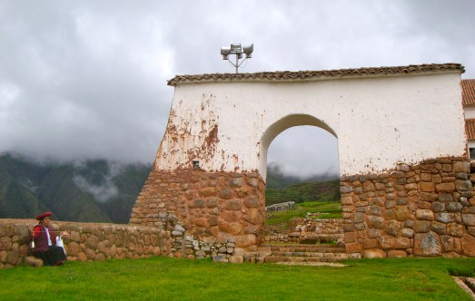 The entrance of Chinchero