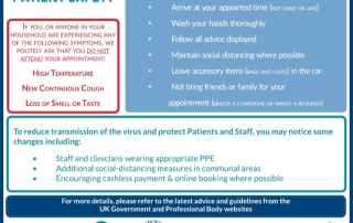 Routine Appointments Are Back Monday 8th June 2020 1