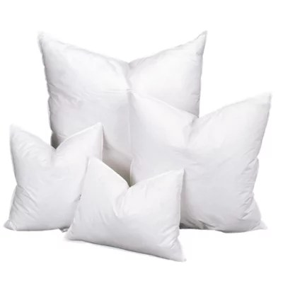 r tex down feather pillow inserts 25 75