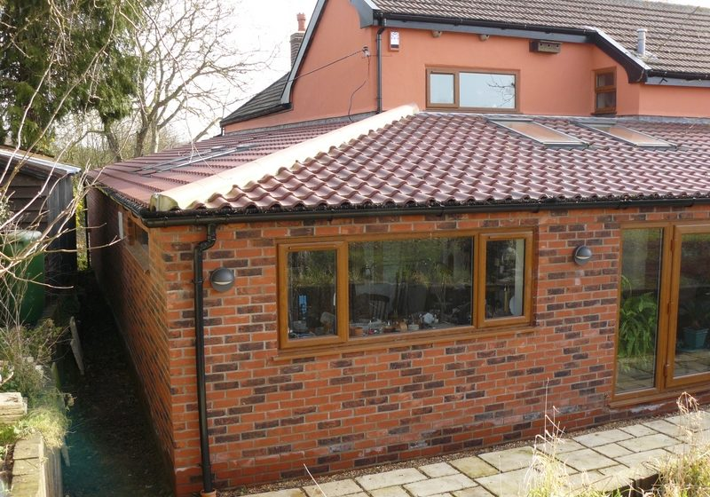 J Side and Rear Extension