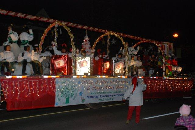RMS Santa Claus Parade Float 2013