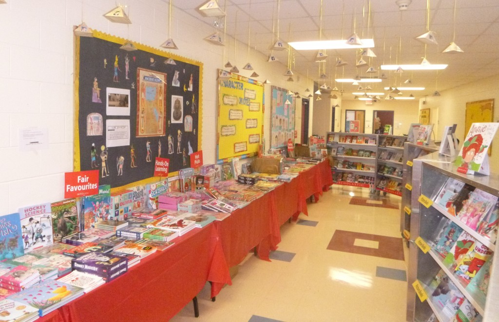 The Scholastic Book Fair 2015