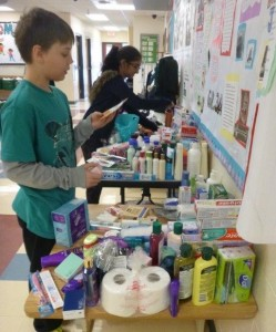 Collection of Toiletries for the Womens Shelter