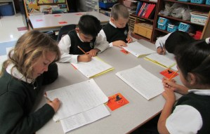 Passion for Learning in the classroom