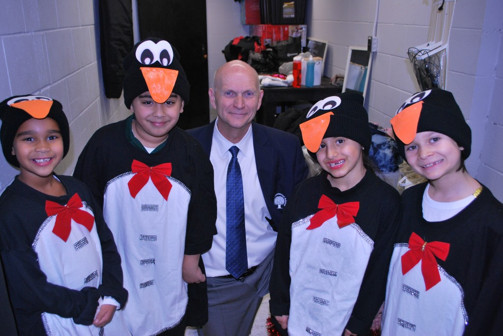 Mr. Bailey and the Penguins