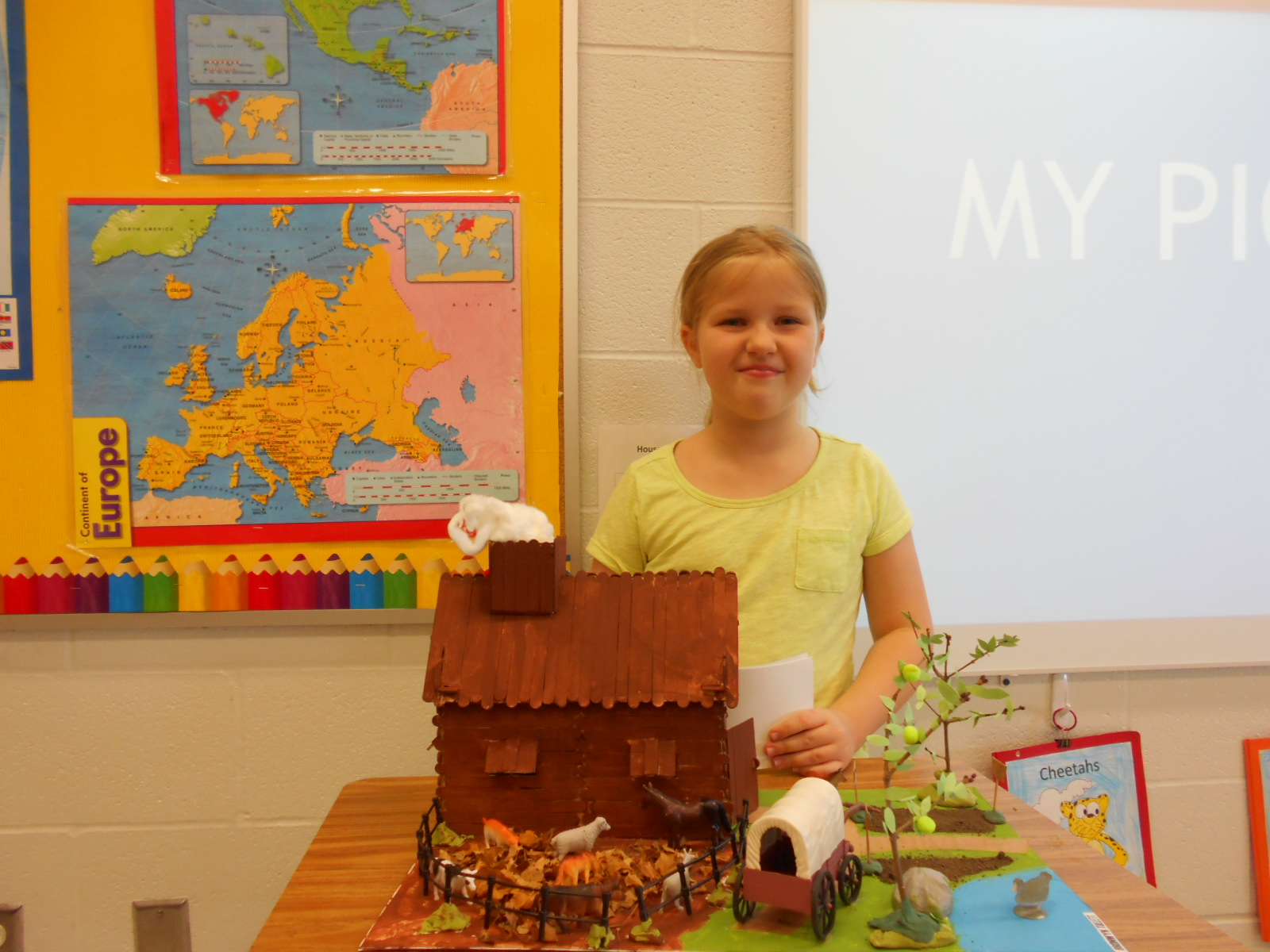 A completed pioneer village project