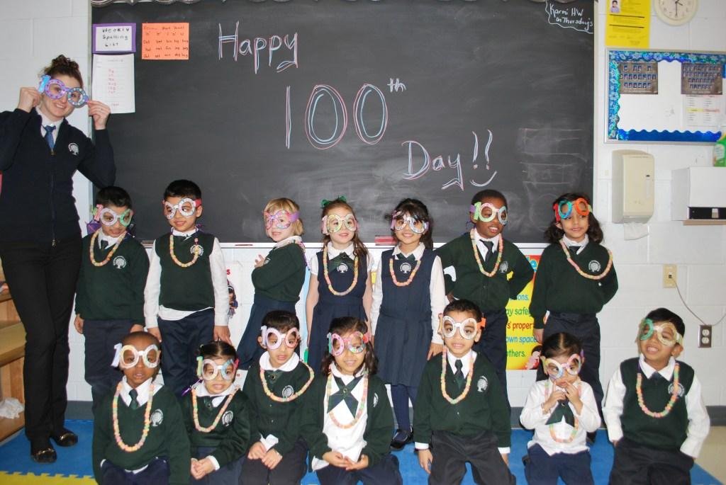 Pre- Kindergarten celebrating the big day