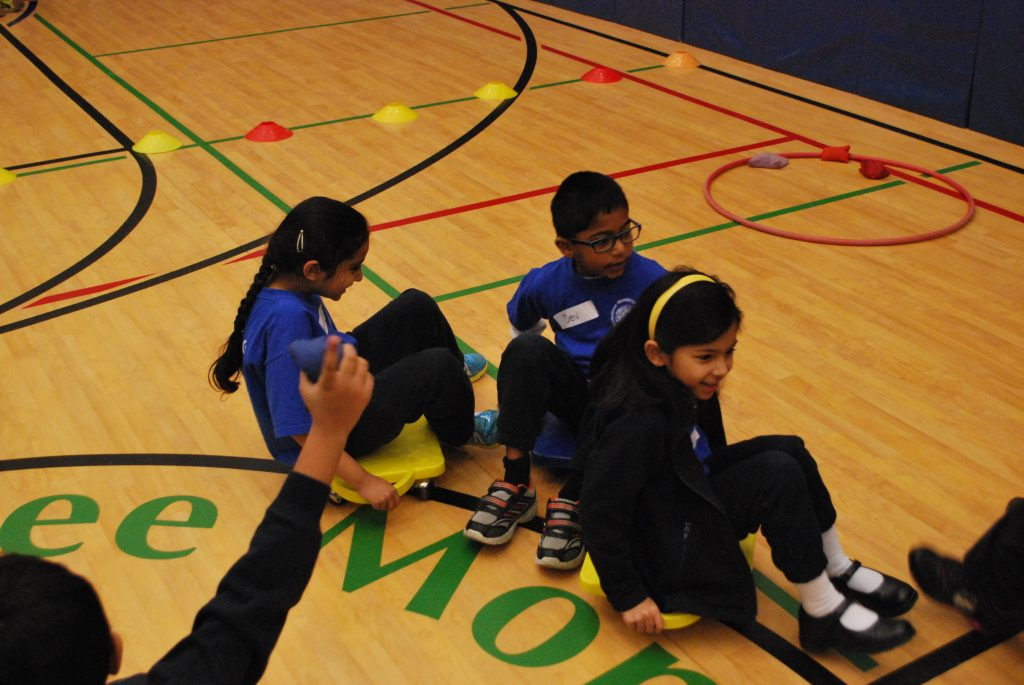 Students who are physically active, stay mentally active too!
