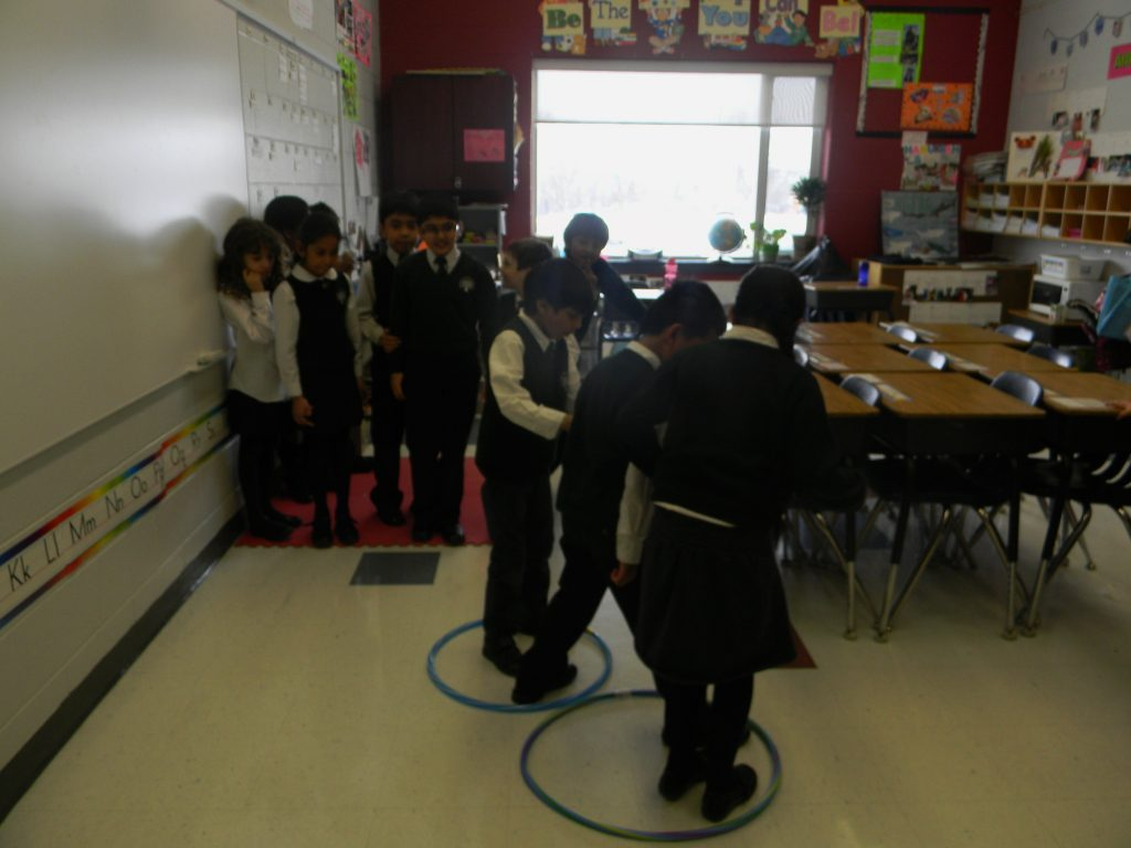 The Classroom Island Activity
