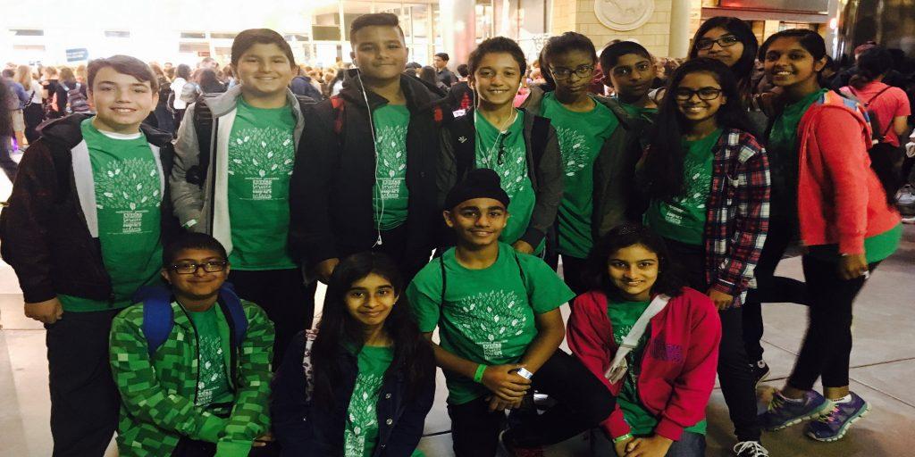 13 young representatives of RMS