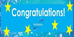 Congratulations Mathletes!