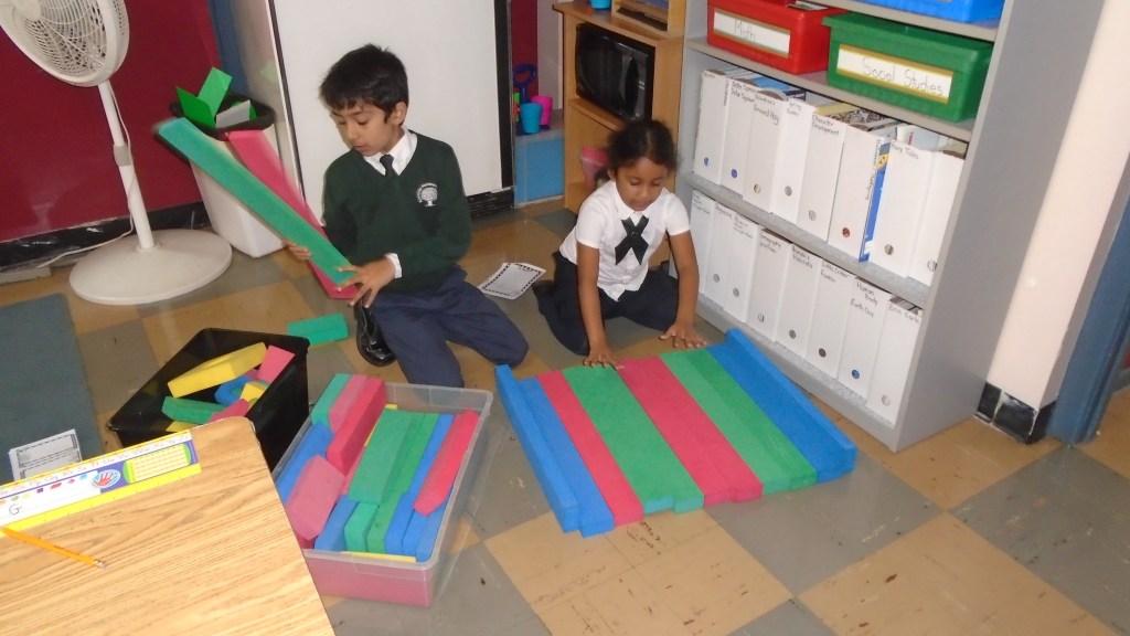 Building their initial design
