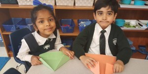 Learning Origami During Asian Heritage Month