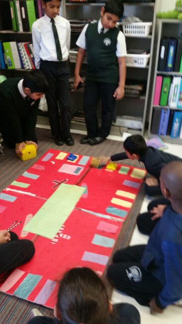 Students making their own creative and innovative games at RMS private school  in Brampton
