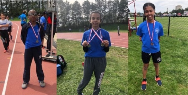 Track and Field at RMS 2018
